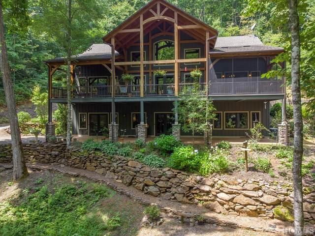 634 Serenity Ridge Drive, Franklin, NC 28734 (MLS #97251) :: Pat Allen Realty Group