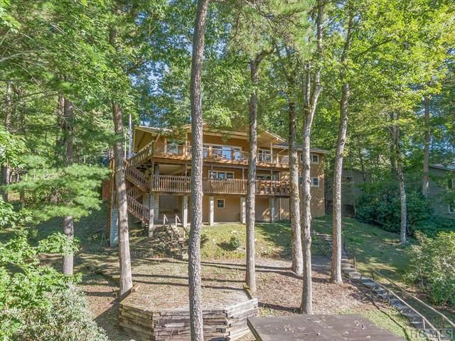 455 N Club Blvd., Lake Toxaway, NC 28747 (MLS #97537) :: Berkshire Hathaway HomeServices Meadows Mountain Realty