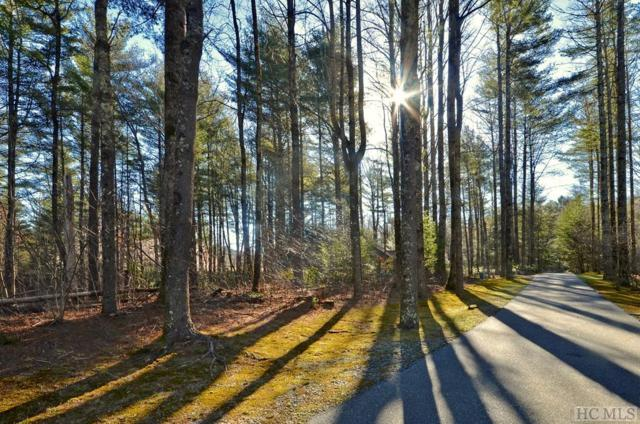 Lot B2 Courtside Cottage Way, Cashiers, NC 28717 (MLS #85572) :: Lake Toxaway Realty Co