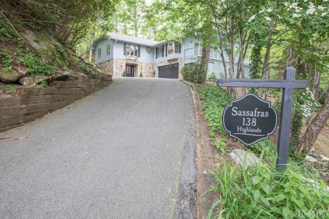 138 Sassafras Court, Highlands, NC 28741 (MLS #88625) :: Berkshire Hathaway HomeServices Meadows Mountain Realty