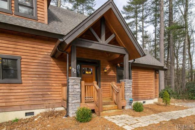92 Logan Creek Trail, Sapphire, NC 28774 (MLS #90193) :: Lake Toxaway Realty Co