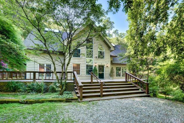 872 Wayfaring Road, Cashiers, NC 28717 (MLS #90989) :: Berkshire Hathaway HomeServices Meadows Mountain Realty