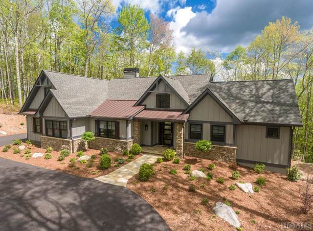 102 Crippled Oak Trail, Glenville, NC 28736 (MLS #92131) :: Pat Allen Realty Group