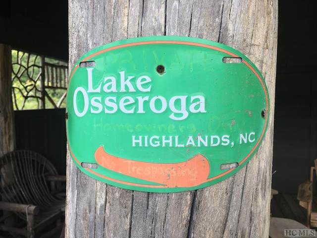 Lot 8 Lake Osseroga Drive, Highlands, NC 28741 (MLS #94325) :: Berkshire Hathaway HomeServices Meadows Mountain Realty