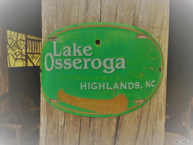 Lot 4 Lake Osseroga Drive, Highlands, NC 28741 (MLS #94326) :: Berkshire Hathaway HomeServices Meadows Mountain Realty