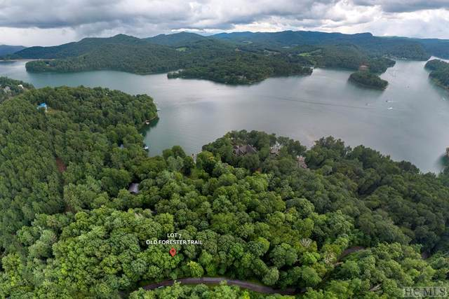 Lot 7 Old Forester Trail, Cullowhee, NC 28723 (MLS #96047) :: Berkshire Hathaway HomeServices Meadows Mountain Realty