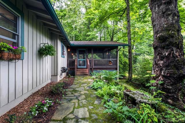 1434 Cherokee Trail, Sapphire, NC 28774 (MLS #96860) :: Berkshire Hathaway HomeServices Meadows Mountain Realty