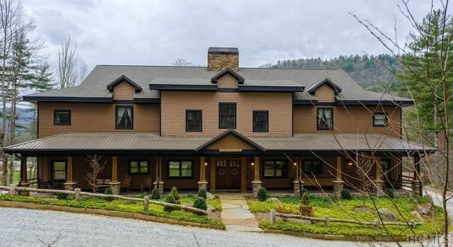 77 Logan Creek Trail, Sapphire, NC 28774 (MLS #95982) :: Berkshire Hathaway HomeServices Meadows Mountain Realty
