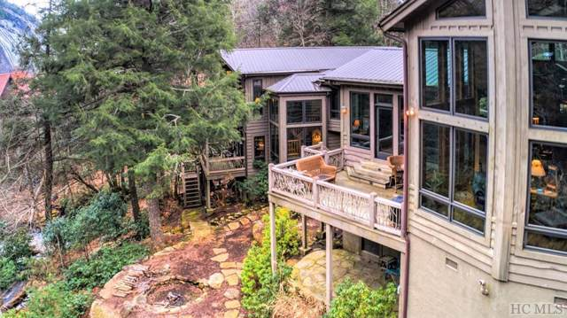 69 Twin Falls Court, Sapphire, NC 28774 (MLS #89993) :: Berkshire Hathaway HomeServices Meadows Mountain Realty