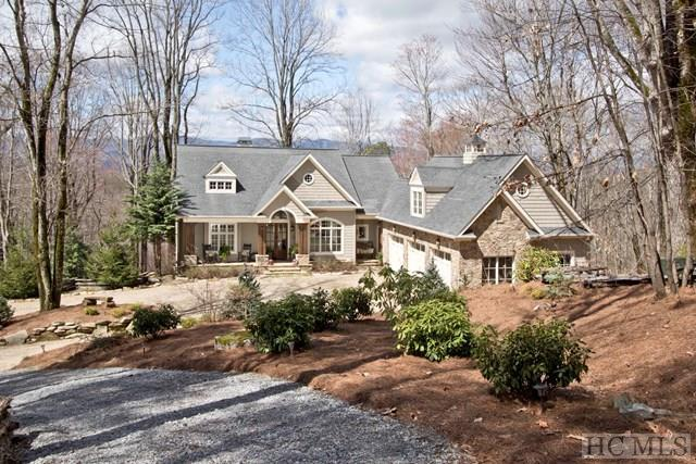 585 Hurrah Ridge, Scaly Mountain, NC 28775 (MLS #85635) :: Berkshire Hathaway HomeServices Meadows Mountain Realty
