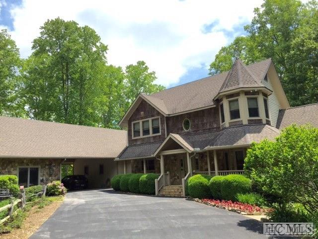 70 Montreat Drive, Glenville, NC 28736 (MLS #85749) :: Berkshire Hathaway HomeServices Meadows Mountain Realty