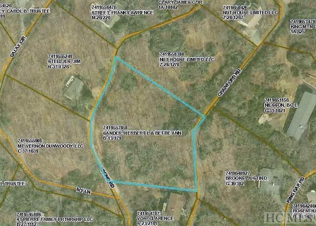 Lot 53 Crawford Road, Highlands, NC 28741 (MLS #88074) :: Berkshire Hathaway HomeServices Meadows Mountain Realty