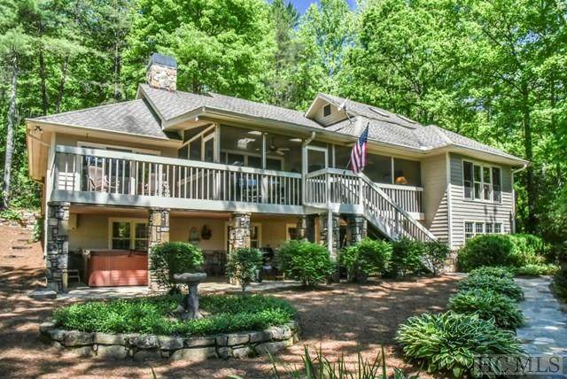 33 Lakeshore Drive, Sapphire, NC 28774 (MLS #92905) :: Berkshire Hathaway HomeServices Meadows Mountain Realty
