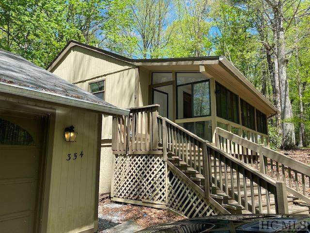 354 Narrows Road, Cashiers, NC 28774 (MLS #96500) :: Pat Allen Realty Group