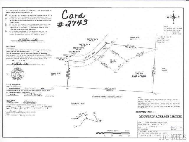 TBD Cowee Ridge Road, Highlands, NC 28741 (MLS #97635) :: Berkshire Hathaway HomeServices Meadows Mountain Realty