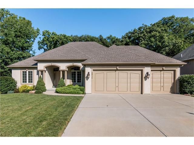 8814 N Glenwood Avenue, Kansas City, MO 64157 (#2059215) :: NestWork Homes