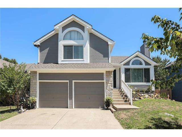5609 Lakecrest Drive, Shawnee, KS 66218 (#2059234) :: NestWork Homes