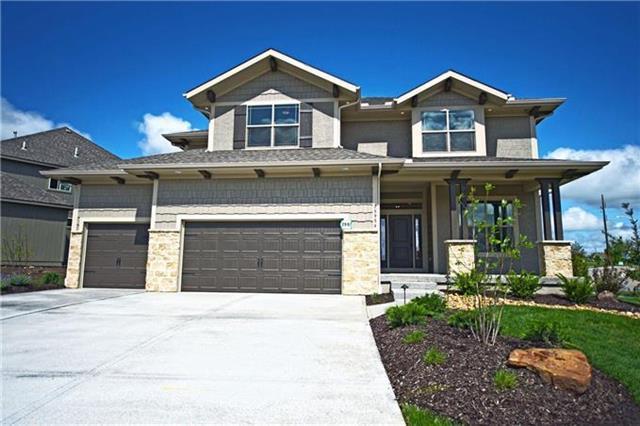 16611 S Schweiger Drive, Olathe, KS 66062 (#2064779) :: The Shannon Lyon Group - Keller Williams Realty Partners