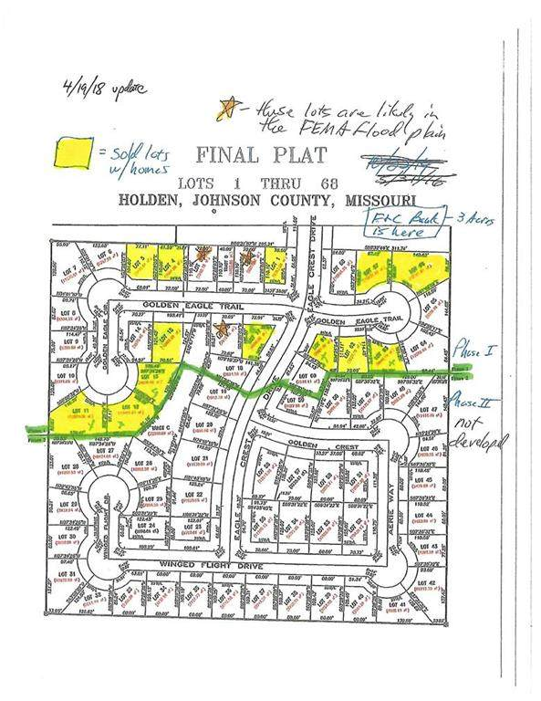 Lot#60 Eagle Crest Drive, Holden, MO 64040 (#2104815) :: Austin Home Team