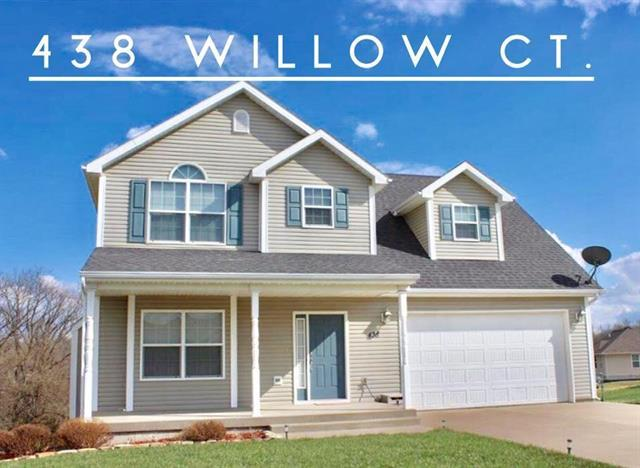 438 Willow Court, Warrensburg, MO 64093 (#2108095) :: The Shannon Lyon Group - ReeceNichols
