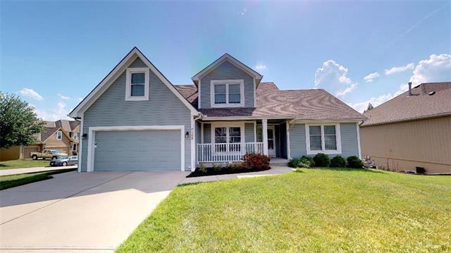 7408 N Chas Drive, Kansas City, MO 64158 (#2109136) :: Kansas City Homes
