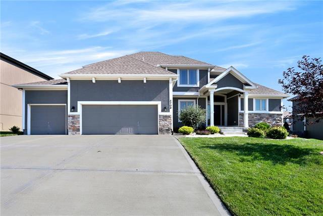 5708 NW 92nd Terrace, Kansas City, MO 64154 (#2118080) :: Kansas City Homes