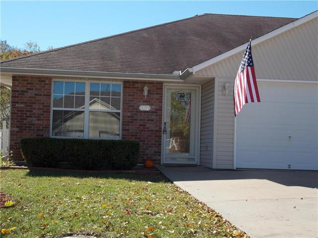 1417 SW Blue Branch Drive, Grain Valley, MO 64029 (#2134721) :: No Borders Real Estate