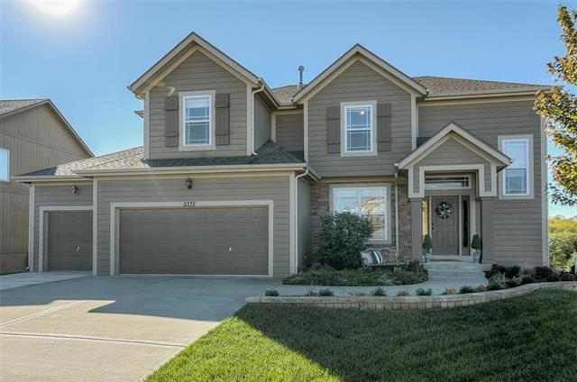 2375 W Fredrickson Drive, Olathe, KS 66061 (#2135230) :: Kansas City Homes