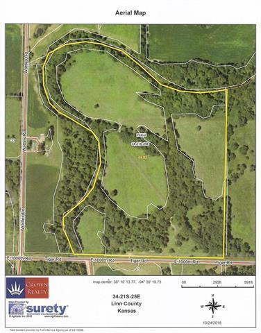 00000 E 1000 Road, Pleasanton, KS 66075 (#2136136) :: No Borders Real Estate