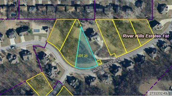 Lot 25 River Hills Drive, Parkville, MO 64152 (#2145808) :: Ron Henderson & Associates