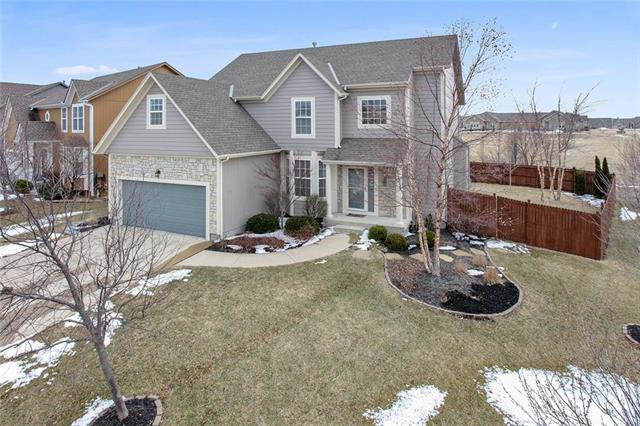 18563 W 155th Street, Olathe, KS 66062 (#2151983) :: House of Couse Group
