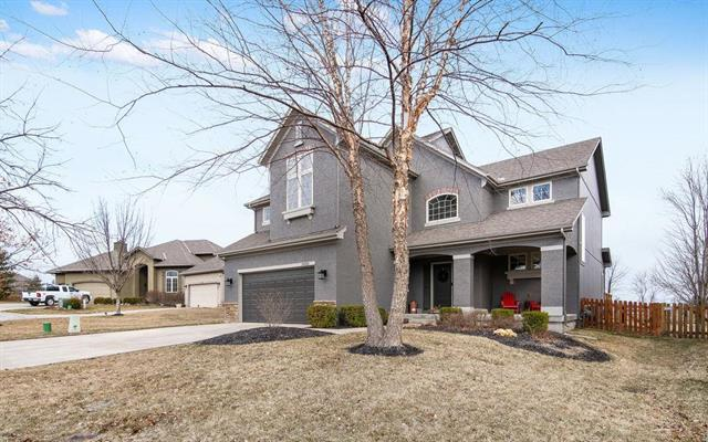24516 W 91st Terrace, Lenexa, KS 66227 (#2154209) :: House of Couse Group