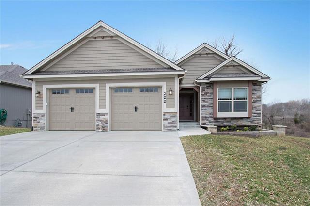 222 N Marimack Drive, Kearney, MO 64060 (#2154704) :: House of Couse Group