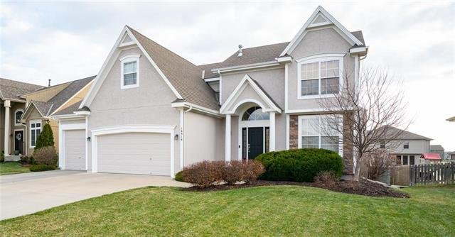 16514 W 165th Terrace, Olathe, KS 66062 (#2155169) :: Edie Waters Network
