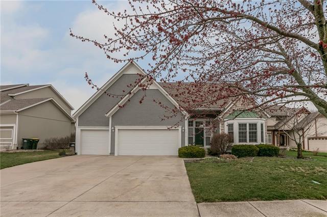 7856 W 153RD Terrace, Overland Park, KS 66223 (#2155419) :: House of Couse Group