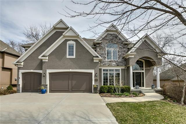 9115 N Evanston Avenue, Kansas City, MO 64157 (#2156261) :: House of Couse Group