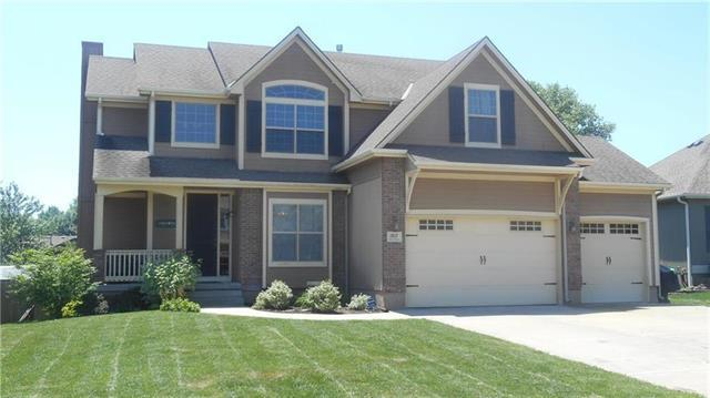 1817 NE Woodview Lane, Lee's Summit, MO 64086 (#2160525) :: No Borders Real Estate