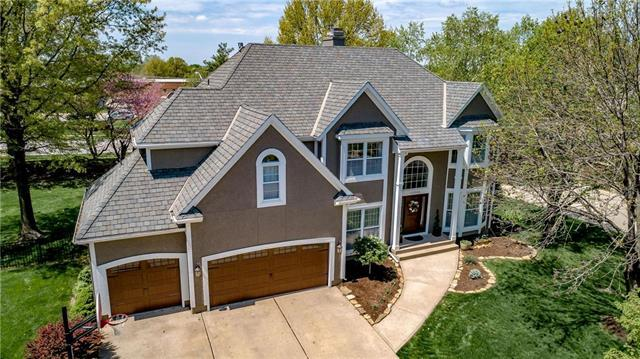 13208 Howe Drive, Leawood, KS 66209 (#2161435) :: House of Couse Group