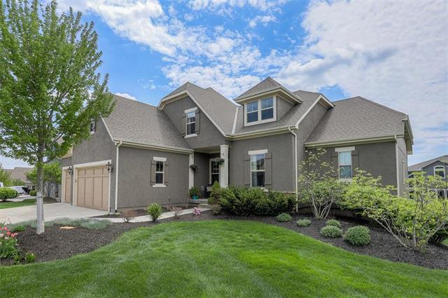 12313 W 162nd Street, Overland Park, KS 66221 (#2161721) :: House of Couse Group