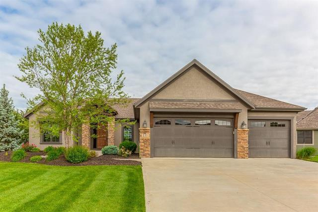 131 Earhart Circle, Lawrence, KS 66049 (#2167892) :: House of Couse Group