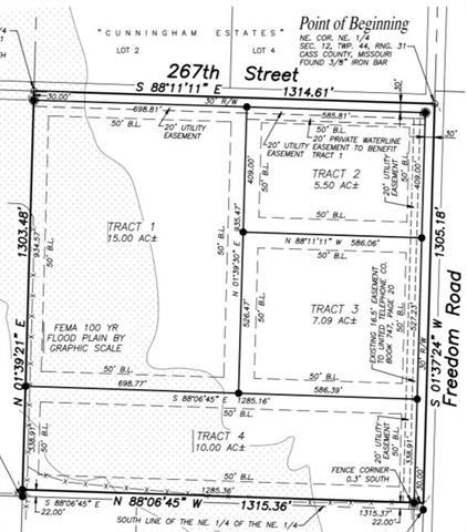 Lot-2 267 Street, Harrisonville, MO 64701 (#2168119) :: Kansas City Homes