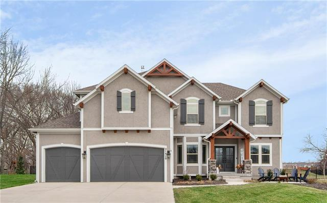 21410 W 62nd Street, Shawnee, KS 66218 (#2177194) :: House of Couse Group