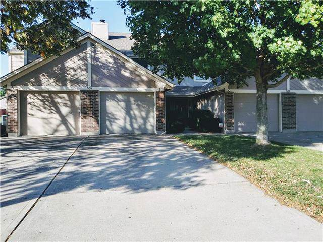 509 NE Knox Street B, Blue Springs, MO 64014 (#2193569) :: The Gunselman Team