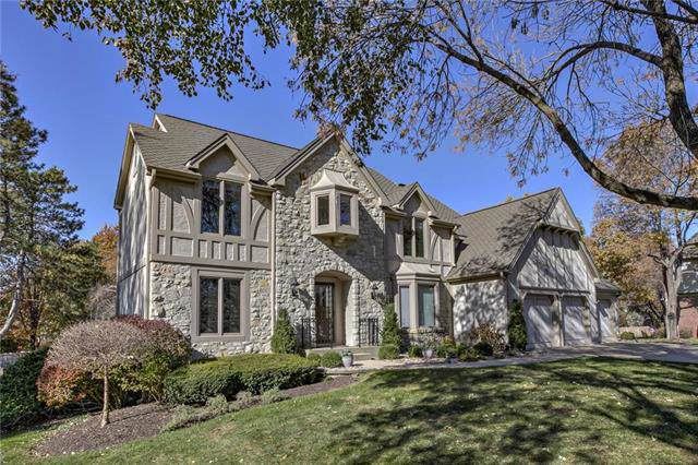4056 W 124th Terrace, Leawood, KS 66209 (#2196924) :: House of Couse Group
