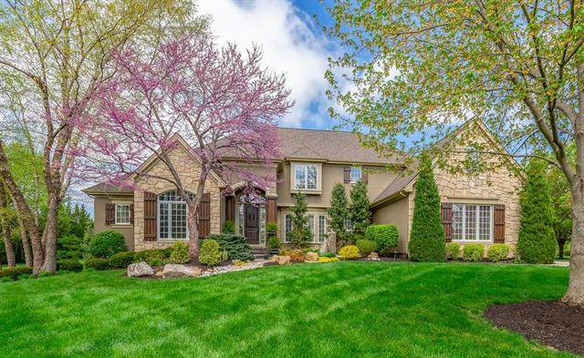 4144 W 147th Terrace, Leawood, KS 66224 (#2213958) :: House of Couse Group