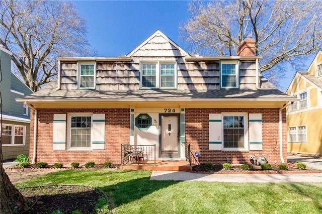 724 W Gregory Boulevard, Kansas City, MO 64113 (#2214944) :: NestWork Homes
