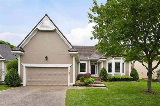 5309 W 122nd Terrace, Overland Park, KS 66209 (#2221012) :: House of Couse Group