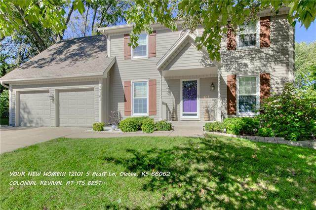 12101 S Acuff Lane, Olathe, KS 66062 (#2223659) :: Ron Henderson & Associates