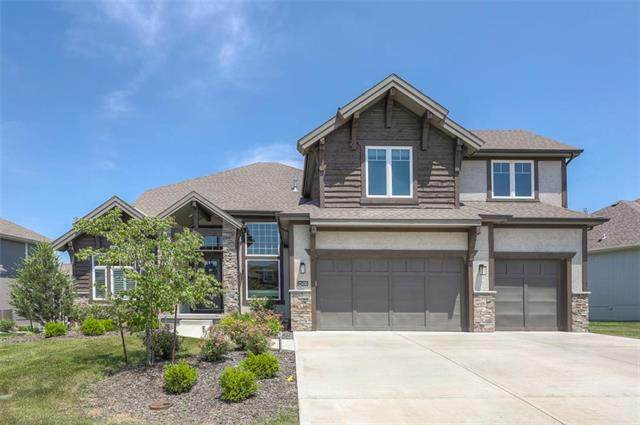 12410 W 162nd Terrace, Overland Park, KS 66221 (#2225898) :: House of Couse Group
