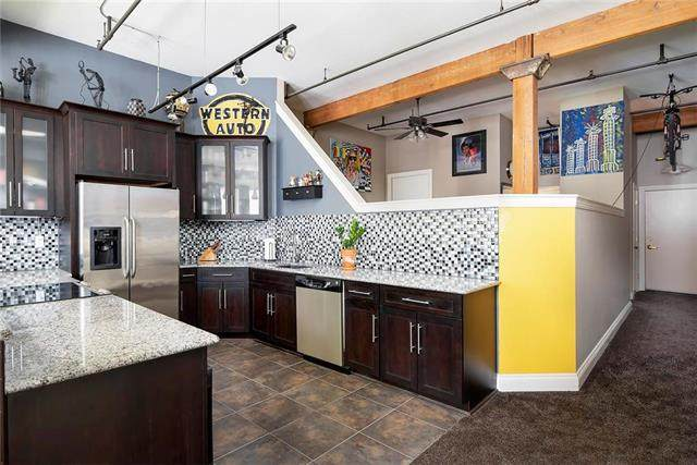 308 W 8TH #507 Street #507, Kansas City, MO 64105 (#2229934) :: House of Couse Group